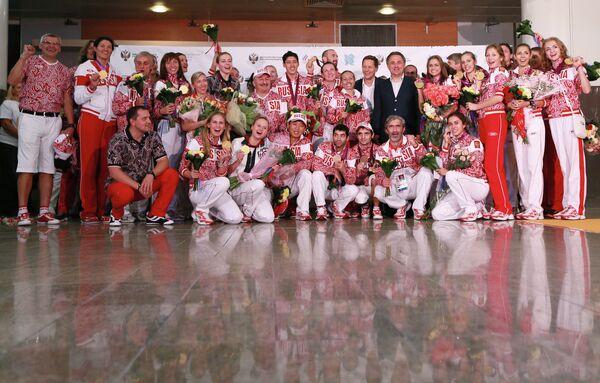 Члены олимпийской сборной России