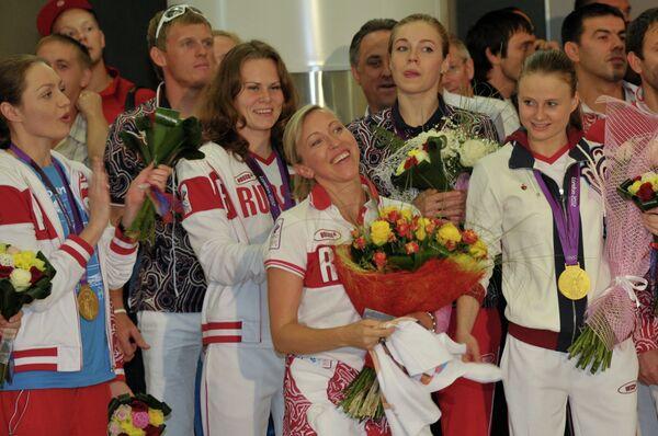Члены российской сборной
