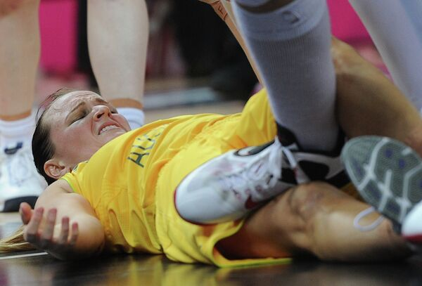 ОИ - 2012. Баскетбол. Женщины. Матч Австралия - Россия