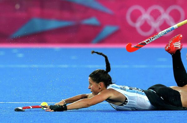 Хоккеистка женской сборной Аргентины по хоккею на траве София Маккари