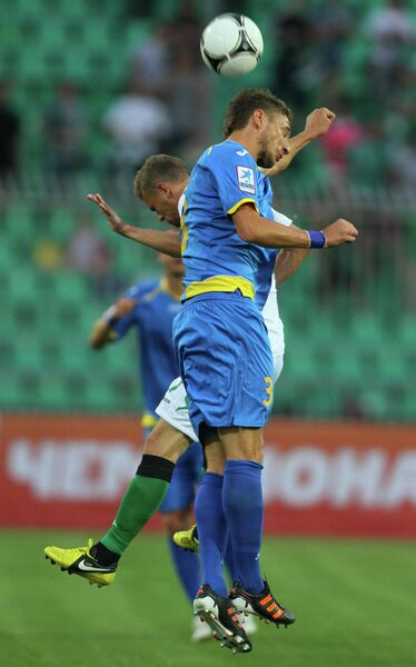 Игровой момент матча Краснодар - Ростов