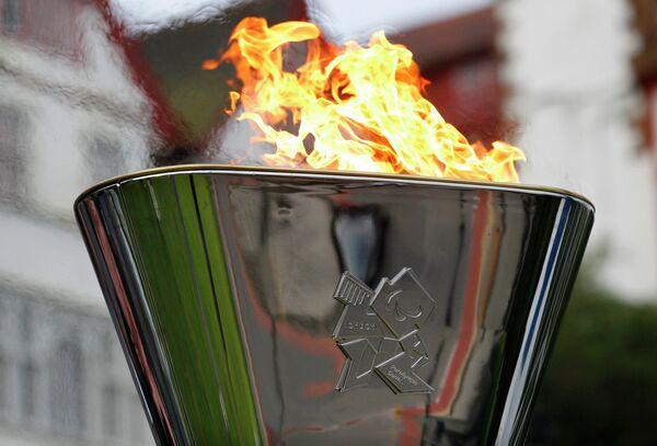 Чаша с огнем Паралимпиады в Лондоне