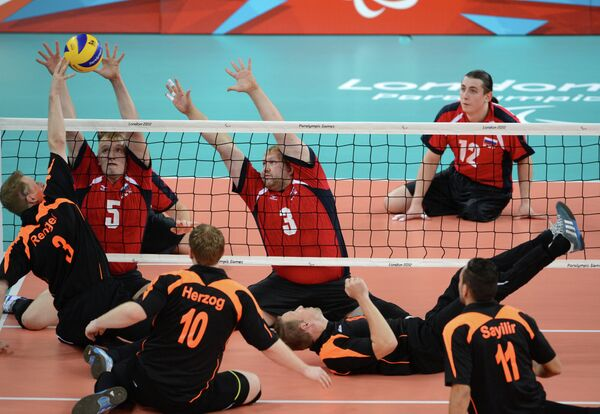 Волейболисты паралимпийской сборной России