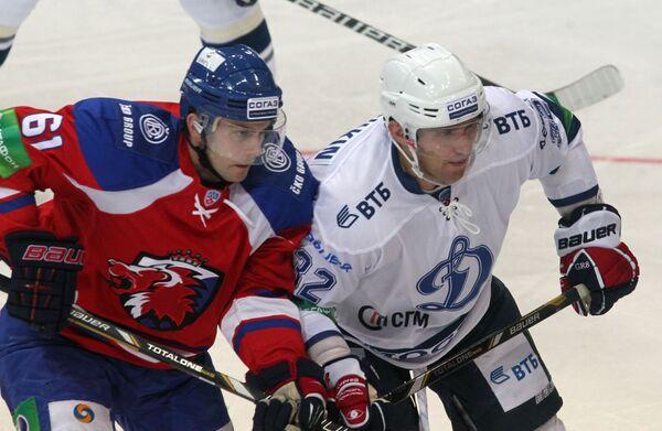 Эрик Кристенсен и Александр Овечкин (слева направо)