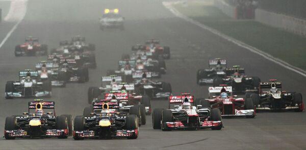 Гран-при Индии. Формула-1