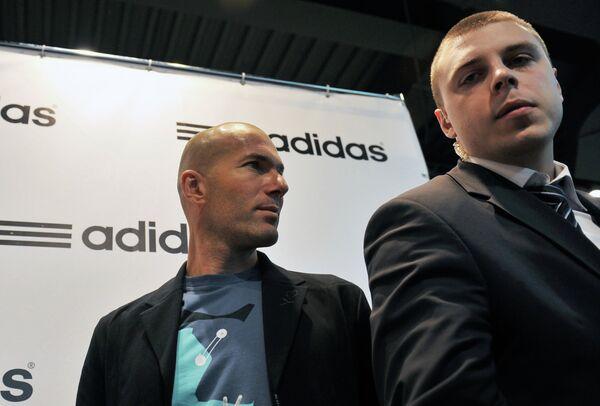 Открытие брендового центра Adidas в Москве