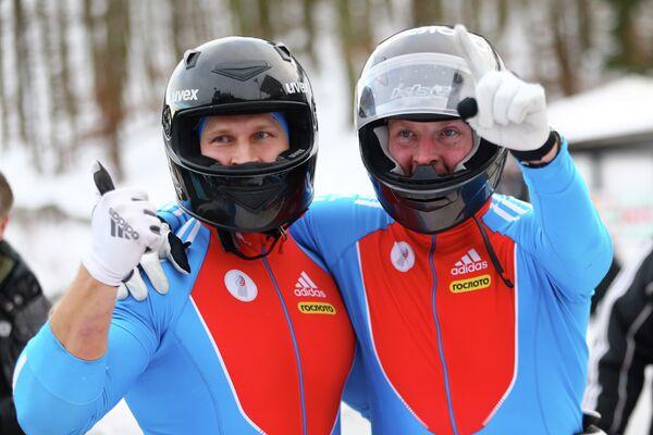 Александр Зубков и Дмитрий Труненков (справа налево)
