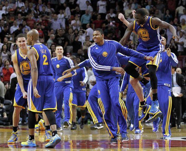 Баскетболисты Голден Стейт
