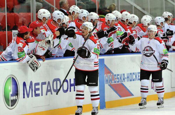 Хоккеисты ХК Донбасс