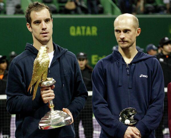Ришар Гаске и Николай Давыденко (слева направо)