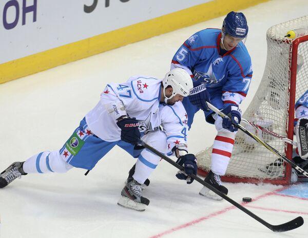 Хоккей. Матч звезд КХЛ - 2013