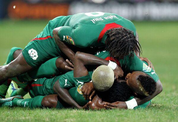Футболисты Буркина-Фасо