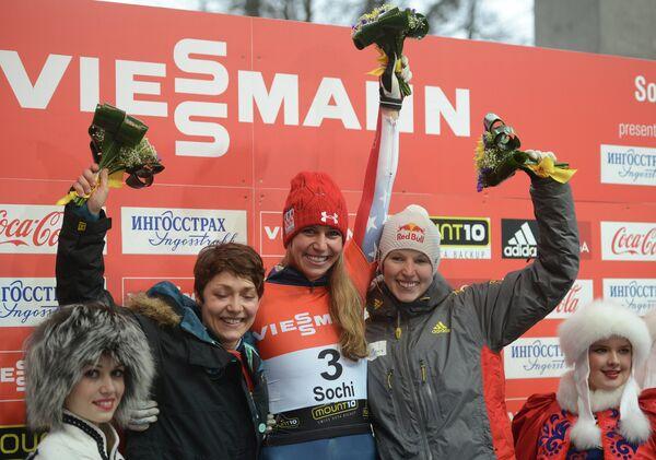 Кэти Уландер, Ноэль Пикус-Пейс и Аня Хубер (слева на право)