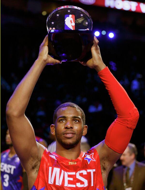 MVP матча всех звезд НБА Крис Пол