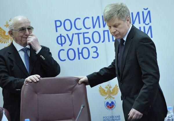 Никита Симонян (слева) и Николай Толстых