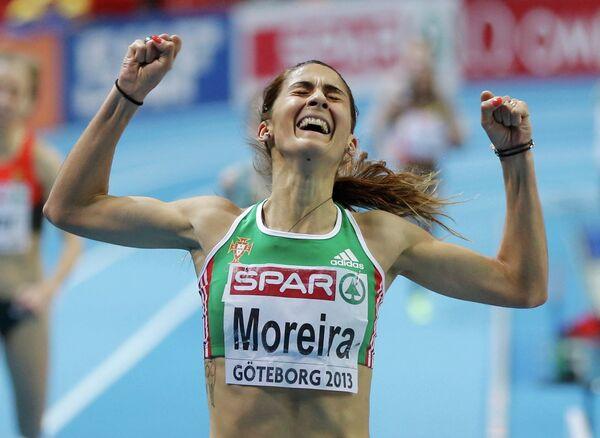 Португальская легкоатлетка Сара Морейра победила на дистанции 3000 м