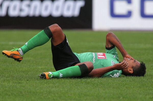 Игрок Краснодара Вандерсон в матче 20-го тура ЧР по футболу против Амкара
