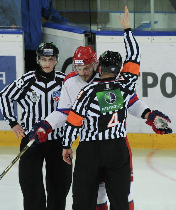 Хоккей. КХЛ. Матч Динамо (Москва) – ЦСКА