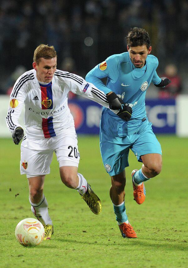 Фабиан Фрай (слева) и Мигел Данни