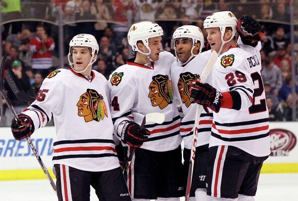 Хоккеисты Чикаго Блэкхоукс