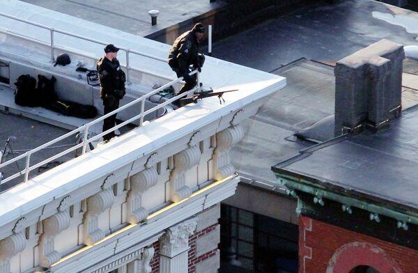 Сотрудники безопасности Бостона