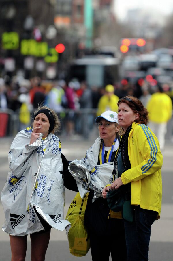 Очевидцы взрывов в Бостоне