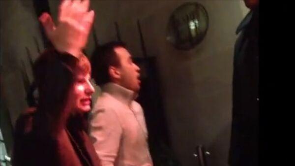 Аршавин повздорил с охранником ночного клуба в Лондоне. Съемка очевидца
