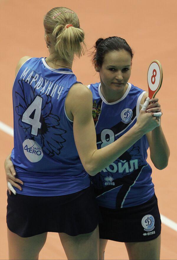 Марина Марюхнич (слева) и Светлана Сурцева