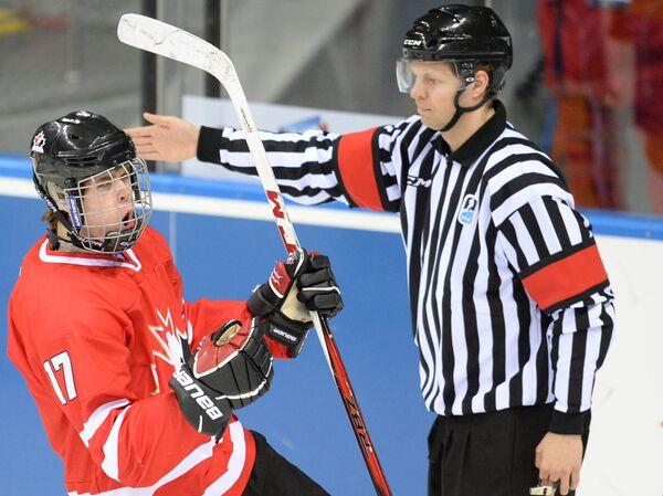 Хоккей. Юниорский ЧМ. Матч Швеция - Канада