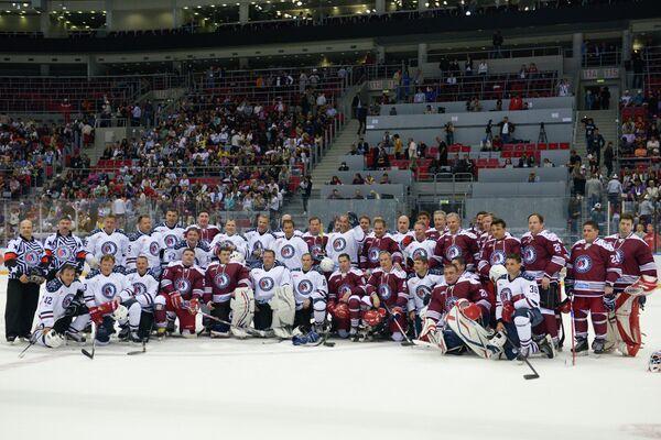 Финал Всероссийского фестиваля по хоккею в Сочи