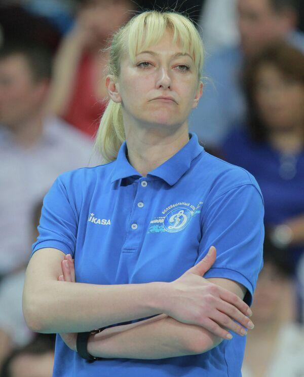 Главный тренер московского волейбольного клуба Динамо Светлана Илич