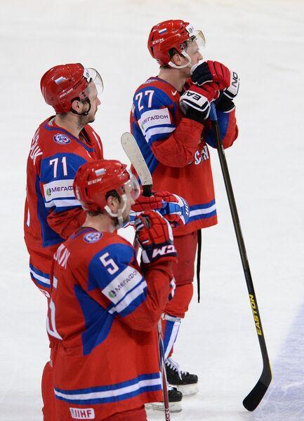 Илья Ковальчук, Илья Никулин и Алексей Терещенко (слева направо)