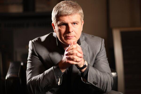 Вице-президент Федерации профессионального бокса России бизнесмен Андрей Рябинский