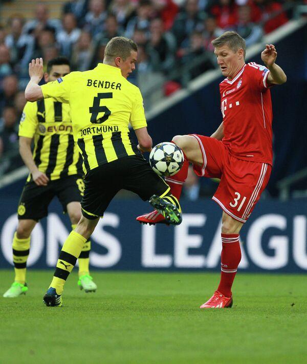 Игровой момент матча Боруссия - Бавария