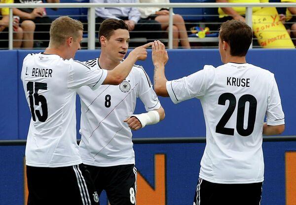 Футболисты Германии