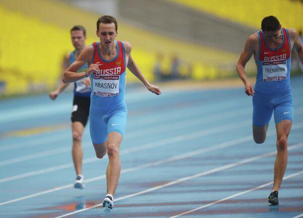 Владимир Краснов (1 место) и Павел Тренихин (4 место) на этапе Московский вызов