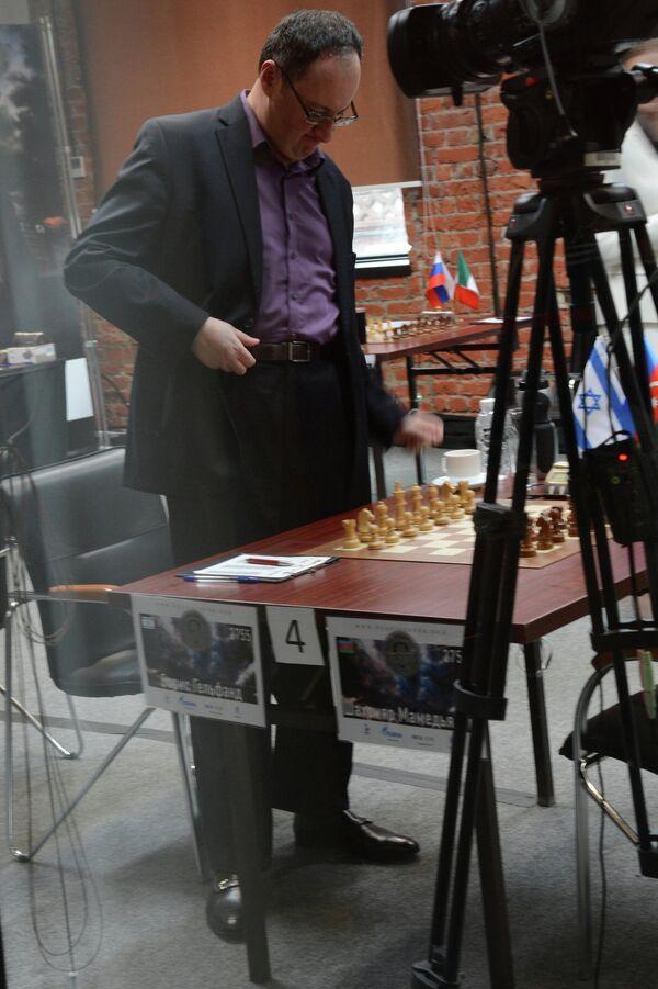 Израильский шахматист Борис Гельфанд