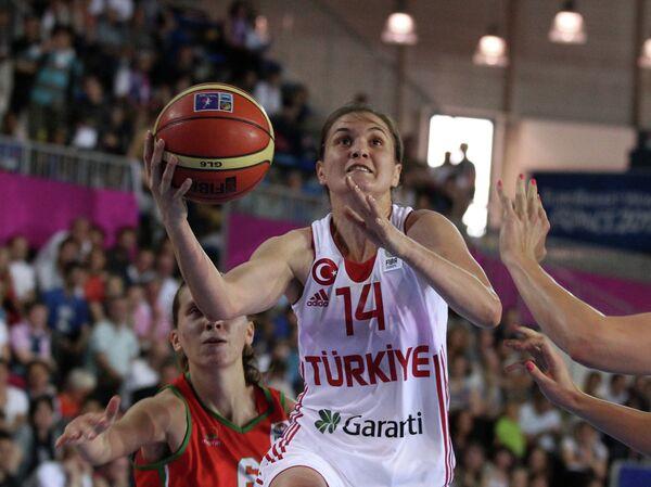 Баскетбол. Чемпионат Европы. Женщины. Матч Турция - Белоруссия