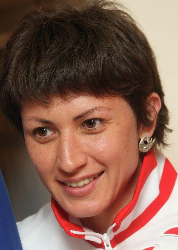 Член сборной России по легкой атлетике Татьяна Лебедева