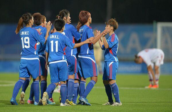 Игроки сборной Китайского Тайбэя