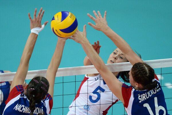 Универсиада. Волейбол. Россия - Чехия