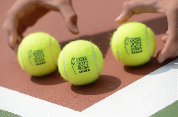 Универсиада. 4-й день. Теннис