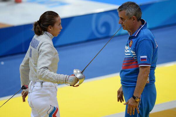 Дина Галиакбарова и Кристиан Бауэр