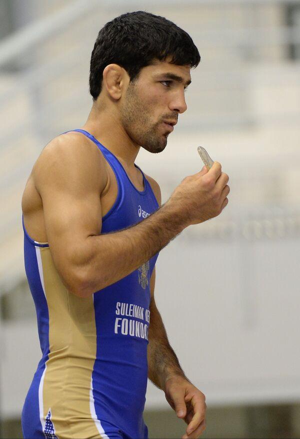 Российский спортсмен Нариман Исрапилов