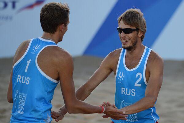 Константин Семенов (слева) и Ярослав Кошкарев