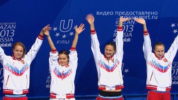 Лучшие моменты восьмого дня соревнований Универсиады-2013