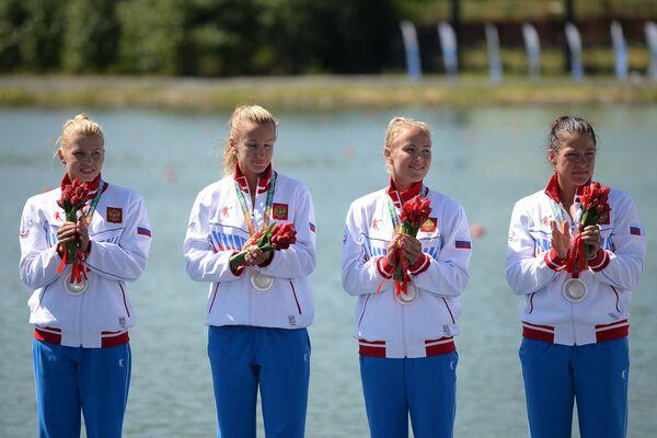 Наталья Подольская, Вера Собетова, Анастасия Сергеева, Наталья Лобова