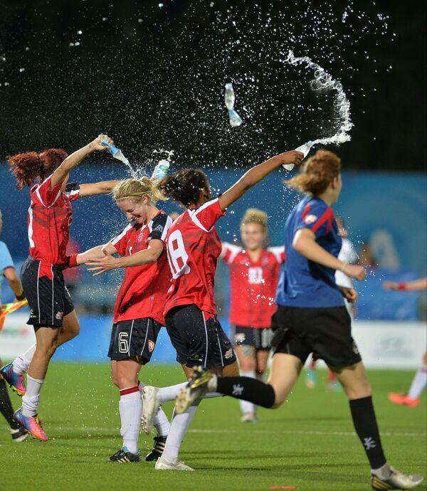 Футболистки сборной Великобритании