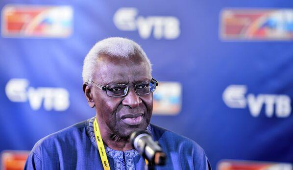 Президент Международной ассоциации легкоатлетических федераций Ламин Диак