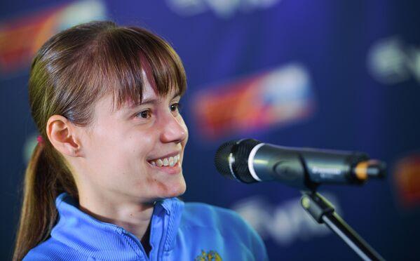 Победительница чемпионата мира Елена Лашманова